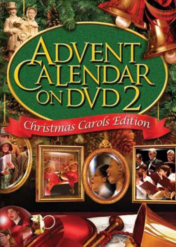 advent calendar on dvd 2 christmas carols edition. Black Bedroom Furniture Sets. Home Design Ideas