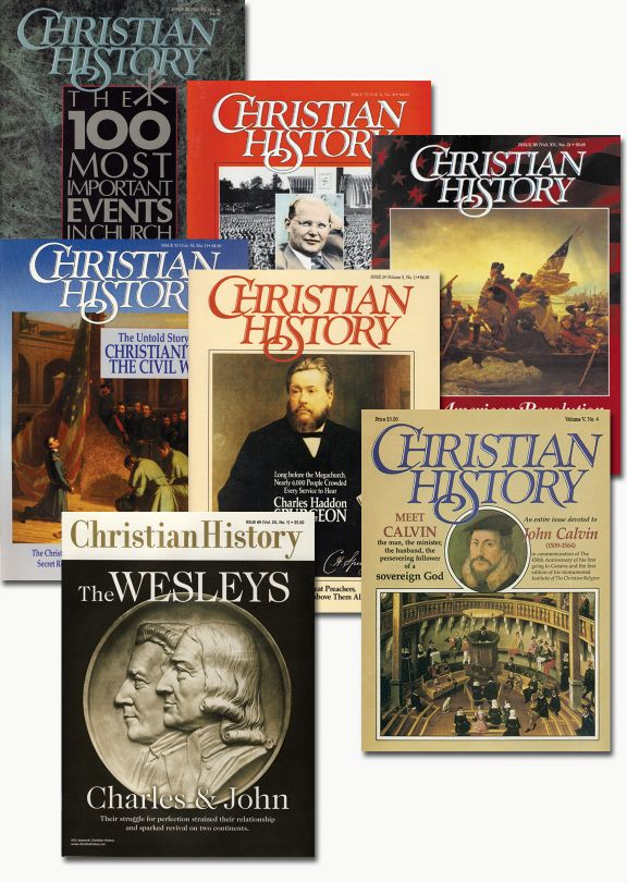Christian History Magazine - Reprint Bundle (#12, #28,  #29, #32, #33,#69)