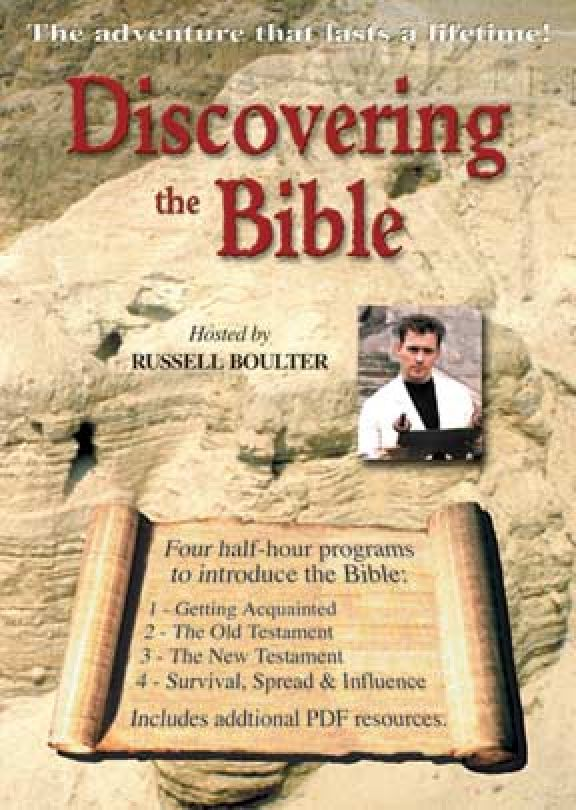 Discovering The Bible - With PDFs