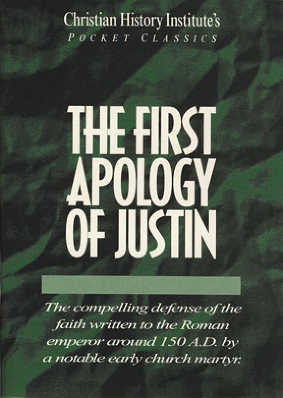 First Apology of Justin - Pocket Classic