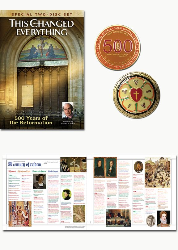 Reformation Commemorative Set of Three