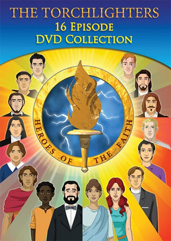 Torchlighters 4 Pk 16 Episode DVD Collection