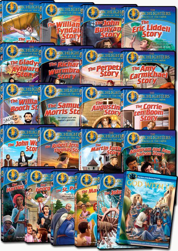 Torchlighters - Set of 21 plus Bonus DVD