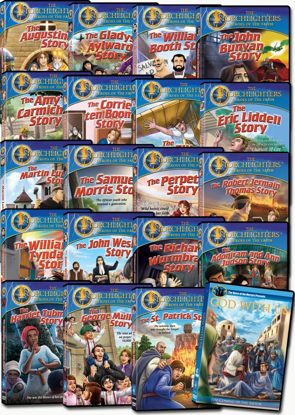 Torchlighters - Set of 19 DVDs plus Bonus DVD