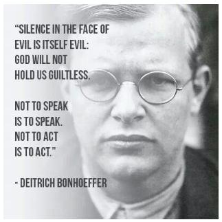 Bonhoeffer pseudo-quote