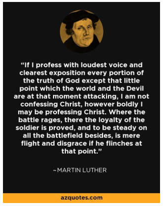 luther pseudo quote