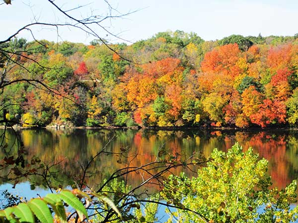 Autumn on the Mississippi