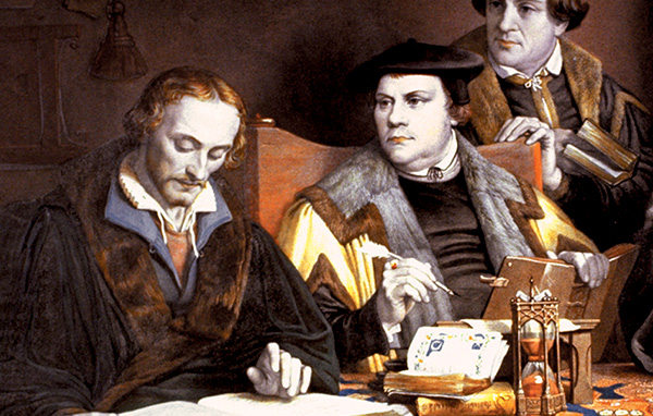 Melanchthon and Luther