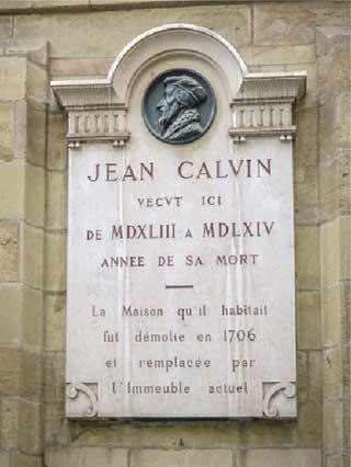Calvin memorial