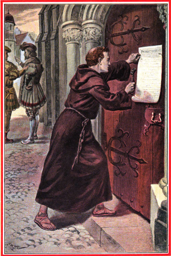 95 thesis by martin luther Then it goes into the story of martin luther, from his 95 theses through the diet of worms up the 95 theses and the birth of the protestant reformation related.