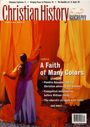 Christian History Magazine 87 Christianity In India A
