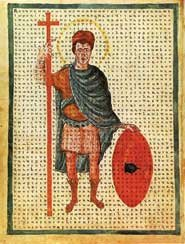 Louis the Pious, who imprisoned Theodulf