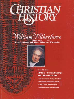 william wilberforces christian commitment William wilberforce and amazing grace william wilberforce compelled by his strong christian faith, wilberforce was introduced to thomas clarkson and the.